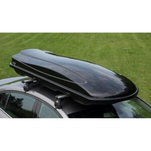 Автобокс Amos Travelpack 440 л, черный глянец