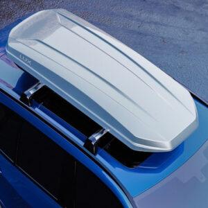 Автобокс LUX MAJOR серый металлик 460L (2170х860х320)