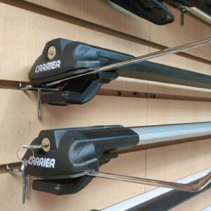 Багажные поперечины для классических рейлингов черные, Carrier V1 Thundra