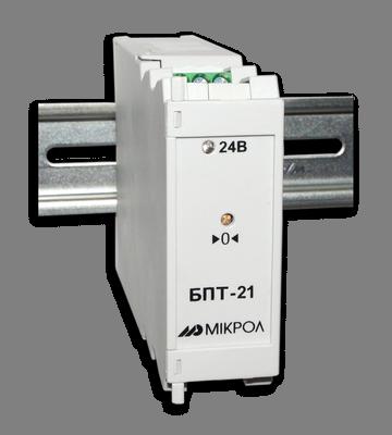 Блок преобразования сигналов термопар с гальванической развязкой БПТ-21