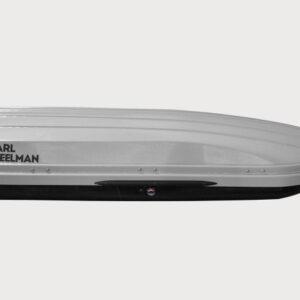Бокс автомобильный Carl Steelman Avangard 505 темно-серый матовый (Карбон) 225х85х40см 505л