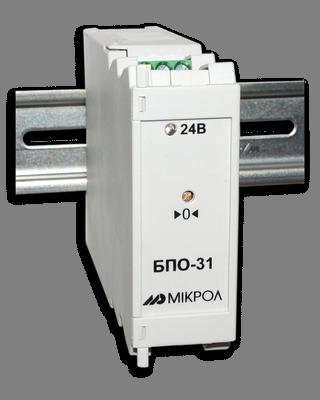 БПО-41. Блок преобразования сигналов термосопротивлений с гальванической развязкой БПО-31