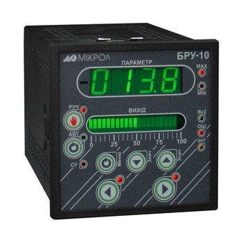 БРУ-10. Блок ручного управления, задания, индикации БРУ-10