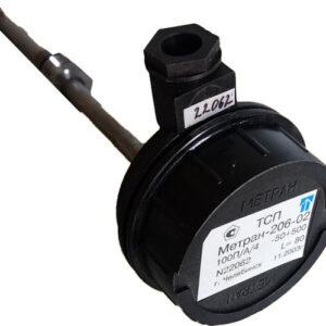 Датчик температуры Метран/Emerson ТСП 206-02 100П/А/4 (-50+500) L80 термопреобразователь сопротивления