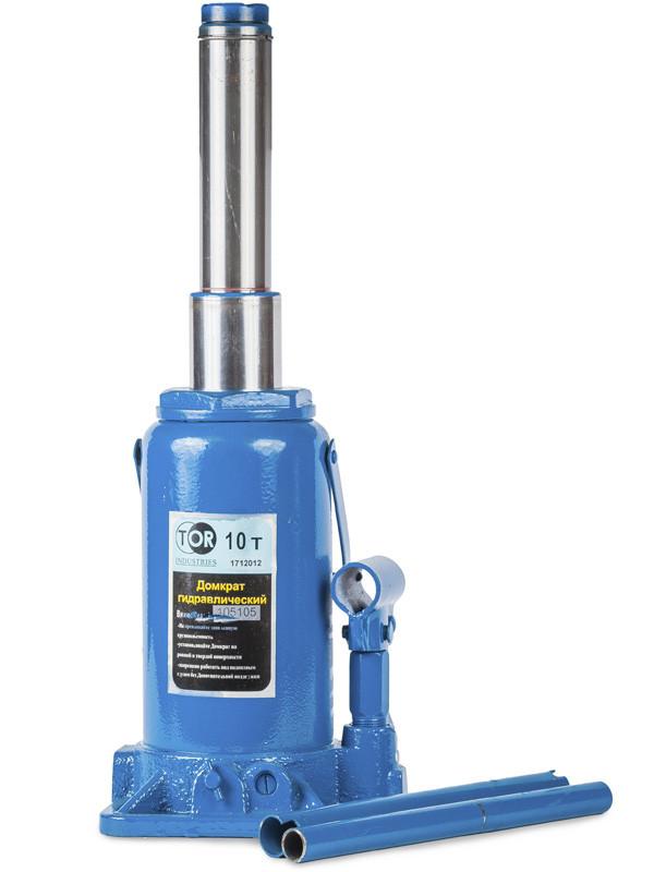Домкрат гидравлический телескопический TOR ДГТ-10 г/п 10 т