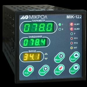Двухконтурный микропроцессорный ПИД-регулятор МИК-122. Купить в России