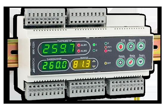 Двухконтурный микропроцессорный ПИД-регулятор МИК-122Н. МИК-122Н