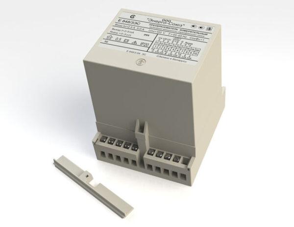 Е 848ЭС Преобразователь измерительный активной мощности трехфазного тока
