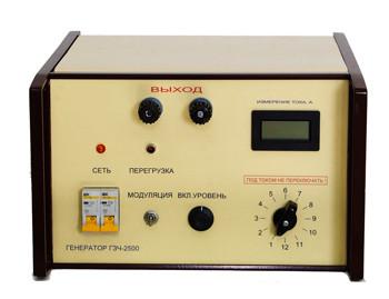 ГЗЧ-2500. Генератор звуковой частоты ГЗЧ- 2500. поиск мест повреждения силовых кабельных линий