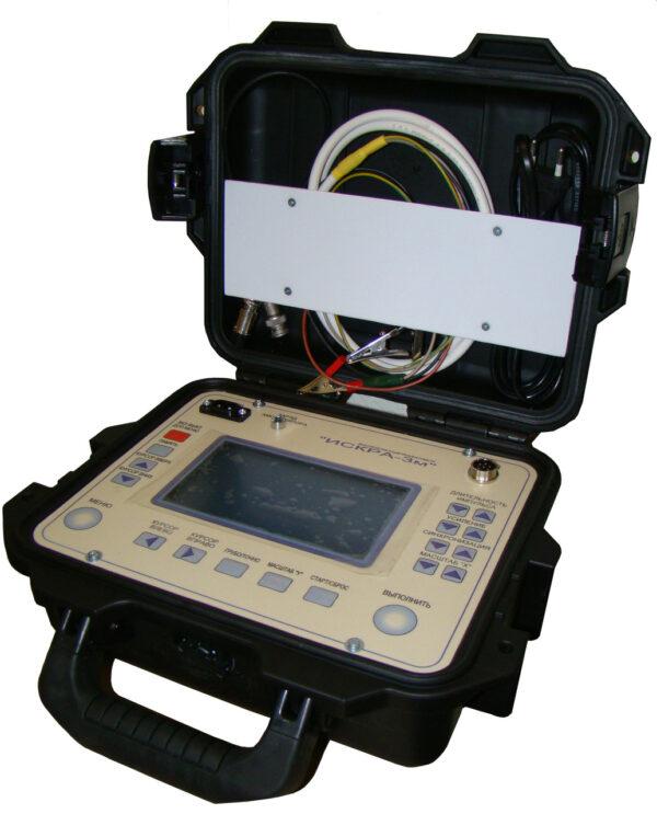 Искра-3. Рефлектометр высоковольтный осциллографический ИСКРА-3. Купить рефлектометр ИСКРА-3М