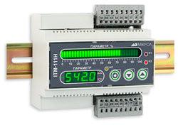 ИТМ-111Н. Одноканальные микропроцессорные индикаторы с цифровой и линейной индикацией на DIN-рейку.