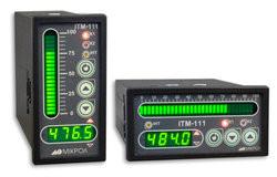 ИТМ-111(В). Одноканальные микропроцессорные индикаторы с цифровой и линейной индикацией