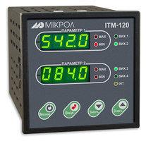 ИТМ-120У. Двухканальный микропроцессорный индикатор ИТМ-120У