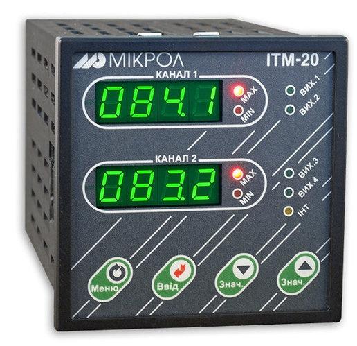 ИТМ-20. Индикатор технологический микропроцессорный ИТМ-20