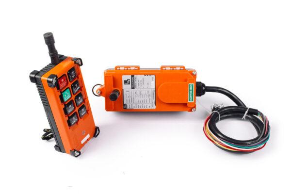 Комплект радиоуправления TOR F24-6D (380 В, 6-кноп, двухскоростной)