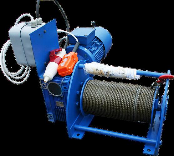 Лебедка электрическая червячная ЛЧ-500Т / ЛЧ-500М