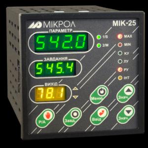 МИК-25. Микропроцессорный регулятор МИК-25