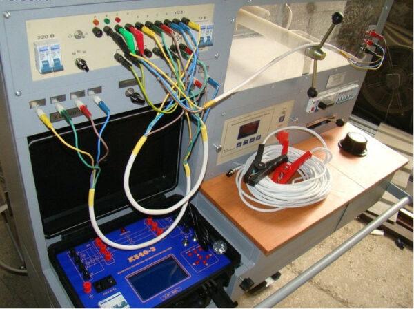 Передвижная модульная лаборатория МЛ-10. Модуль МЛ-10. (аналог кабельной лаборатории «КАЭЛ-3»)