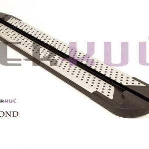 Пороги алюминиевые Erkul Almond для RENAULT KANGO II 2008