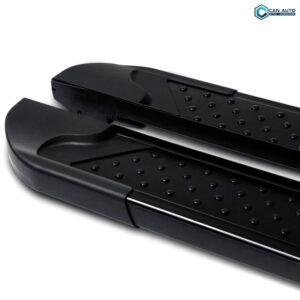 Пороги алюминивые (Sapphire Black) Mitsubishi OUTLANDER 2006>/2014> 2018