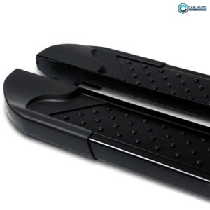 Пороги алюминивые (Sapphire Black) PEUGEOT 4007 2007-2012