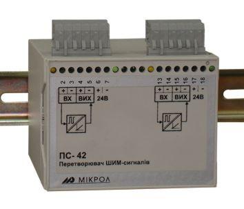 Преобразователь ШИМ сигнала ПС-42. Продукция МИКРОЛ в России