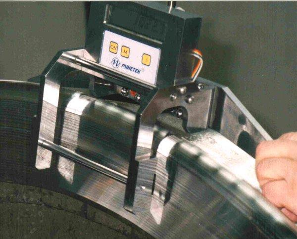 Прибор для измерения диаметра по кругу катания МЭЦИ-Д
