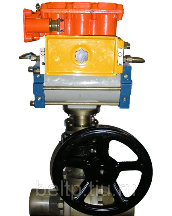Привод пневматический для крана типа ППК-1