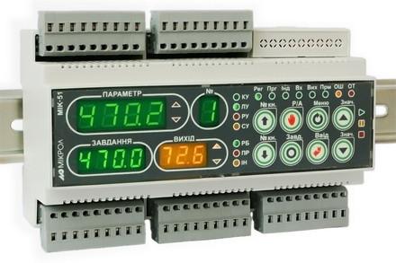Программируемый логический контроллер МИК-51Н. Контроллер на DIN-рейку