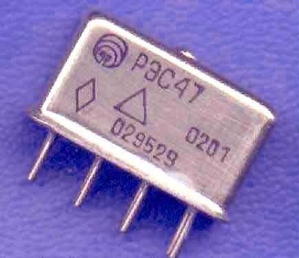Реле электромагнитное герметичное типа РЭС47 РФО.450.047 ТУ 66 7111 0200