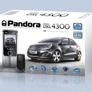 Сигнализация автомобильная Pandora DXL 4300