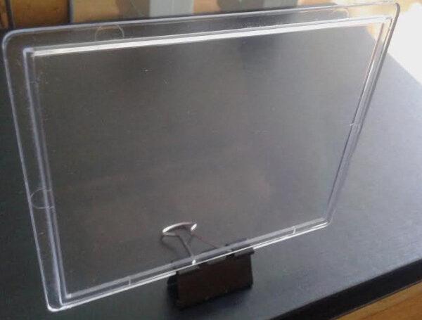Стекло для электрошкафов под окно счетчика Этажный щит, 110*90мм