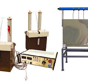 Стенд высоковольтный стационарный СВС-100. СВС-100. испытания изоляции защитных средств (штанги, перчатки) силовых кабелей, БВИ-50-2