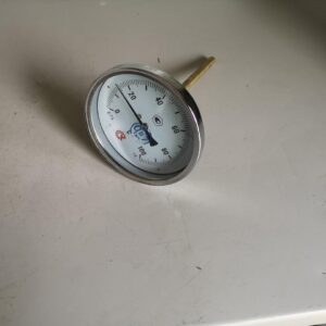 Термометр биметаллический БТ-51.211 (0+100) 150мм, G1/2, 1.6, осевой, показывающий
