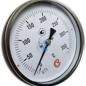 Термометр биметаллический БТ-51.211 (0+350) 150мм, G1/2, 1.5, осевой, показывающий