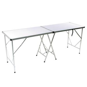 Tramp стол складной TRF-024 (198*60*78 см, алюминий)