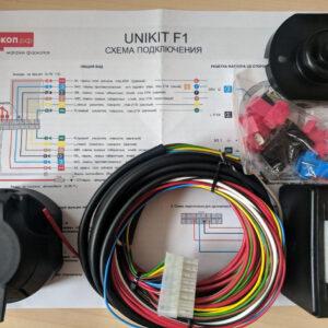 Универсальная электрика к фаркопу с блоком согласования 7 pin