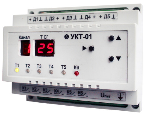 Устройство контроля температуры УКТ-01
