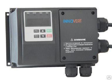 Частотный преобразователь INNOVERT IPD751P21B-VR (0,75 кВт 1ф 220В) IP54