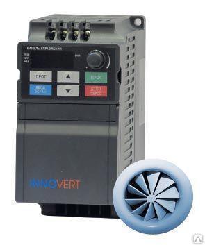 Частотный преобразователь INNOVERT VENT IVD401A43A (0,4 кВт 3ф 380В)