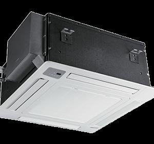 Инверторный кассетный кондиционер Hisense AUC-18UR4SAA2/AUW-18U4SS