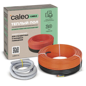 Кабель нагревательный Caleo Cable 18W-40, 130 Вт/м2, 5,5 м2