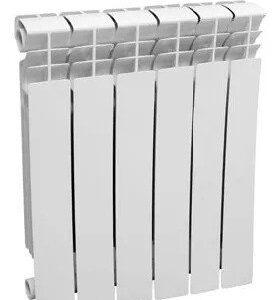 Радиатор биметаллический VIVAT bimetal Eco 80/500 (6 сек)