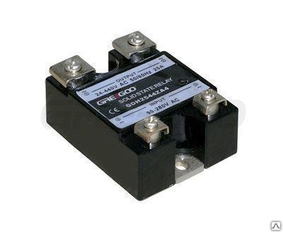 Реле твердотельное GDH8048ZD3 (XSSR-DA4880) комм.80А, ~480В, упр.=3-32 В