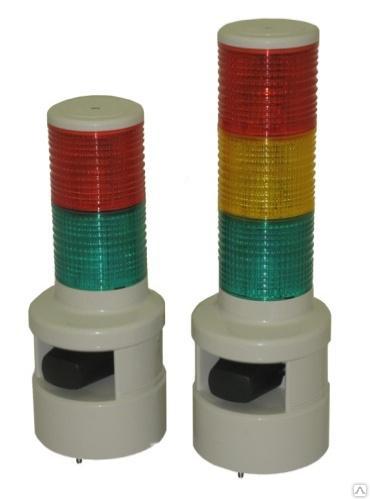 Светосигнальный маячок SFL100B-024-RYG