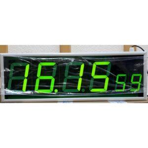Вторичные цифровые часы Пояс-6-NTP-PoE