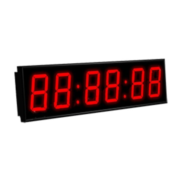 Электронные часы с NTP Импульс-410-EURO-HMS-ETN-NTP