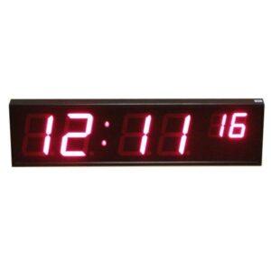 Вторичные (ведомые) электронные часы Р-100х4_057х2b
