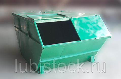 Крышка металлическая для контейнера 8м3