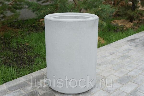 Урна бетонная круглая Гладкая 7.9